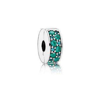 Pandora Mosaic Shining Elegance CZ & Silicone Clip